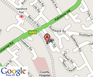 Google Maps | Volkshop Hereford